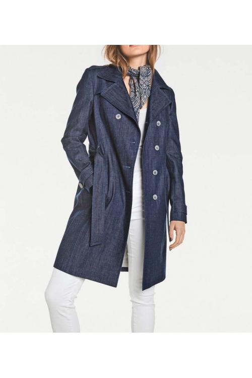 Riflový kabát, riflový trenčkot, Rick Cardona