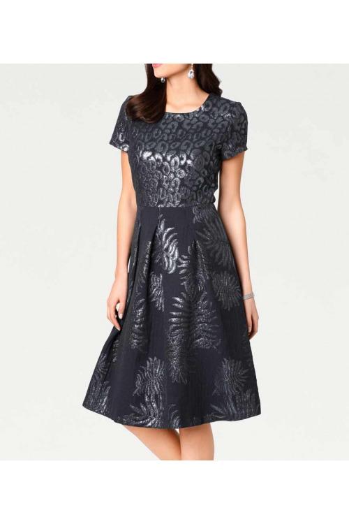 Žakárové šaty Ashley Brooke