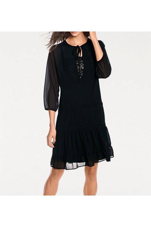 Černé šifonové šaty, Rick Cardona