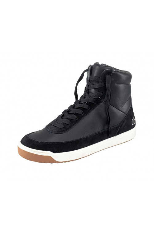 LACOSTE, dámské kožené kotníkové tenisky sneakers