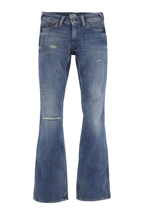 TOMMY HILFIGER DENIM, zvonové rifle, rifle do zvonu, jeans s rozšířenými nohavicemi