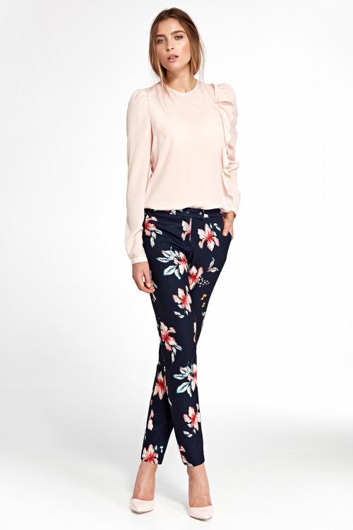 Dámské kalhoty, kalhoty NIFE  s mírně zúženými nohavicemi