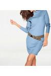 Pletené šaty Patrizia Dini z merino vlny také pro plnoštíhlé