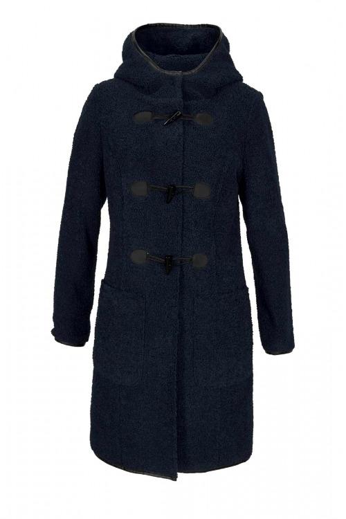 Duffle plyšový kabát, teddy plyš, Aniston