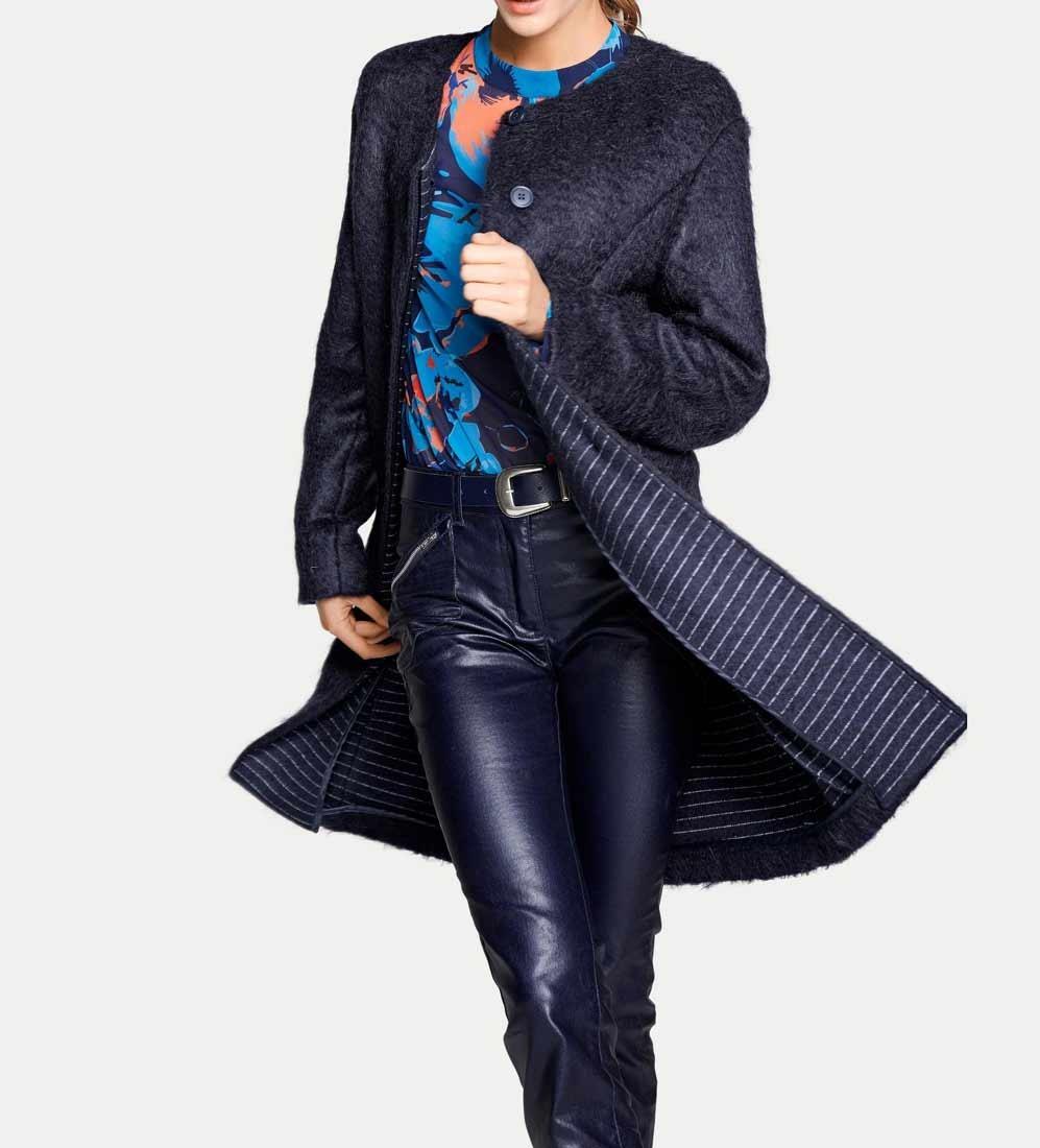 Mohérový flaušový kabát aa4ec63c959
