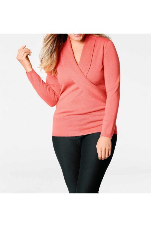 Dámský kvalitní svetr z merino vlny, Patrizia Dini