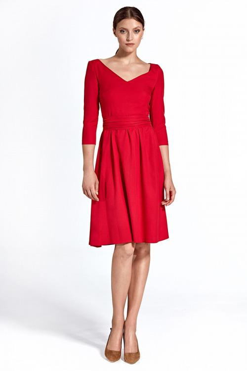 Červené šaty NIFE