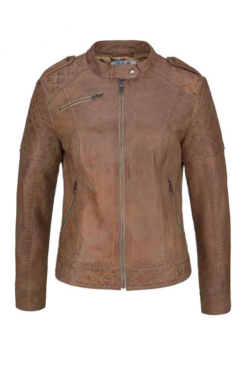 Kožená bunda, móda pro mladé AJC