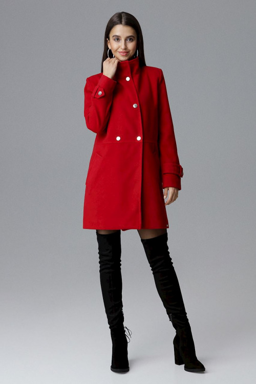 Klasický dvouřadový kabát FIGL