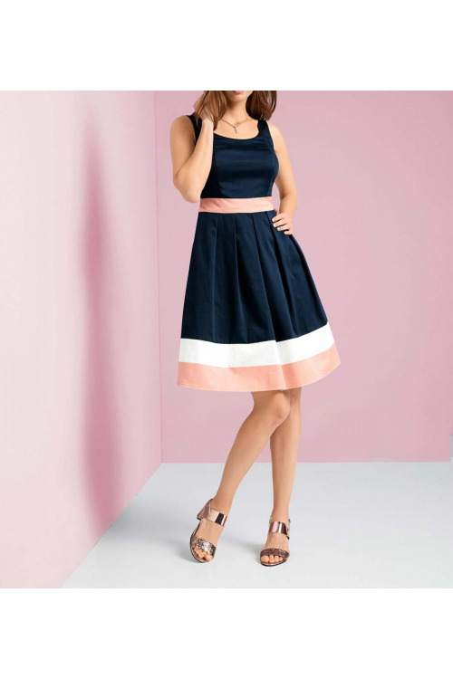 73a5372c7e54 Princesové zeštíhlující šaty Ashley Brooke (vel.40 skladem)