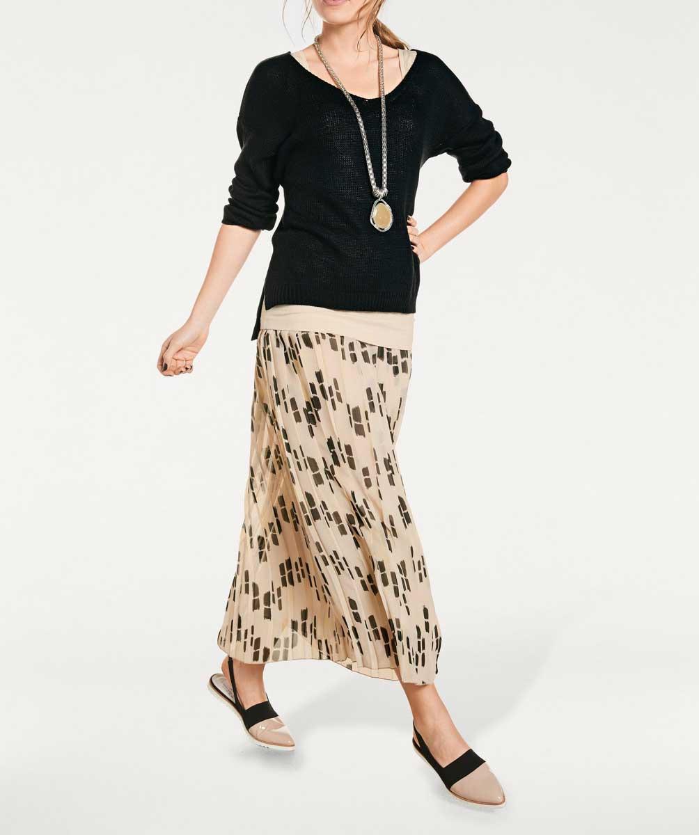 56df8bad886e Dlouhá plisovaná sukně